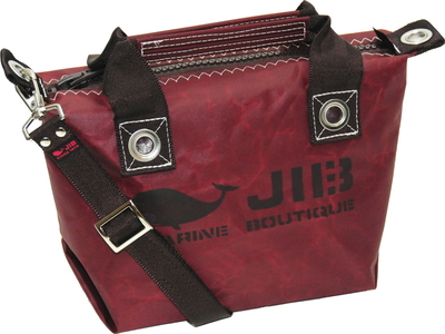 JIB セット販売 FTSS53+SB25MM20 ファスナートートSSココアブラウン+25mm幅無地ショルダーベルト