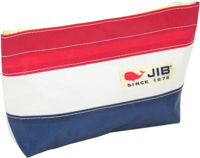 JIB バリットポシェットL BPL30 ネイビー×レッド
