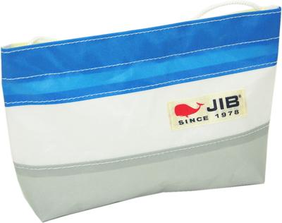 JIB バリットポシェットL BPL30 グレー×ロケットブルー