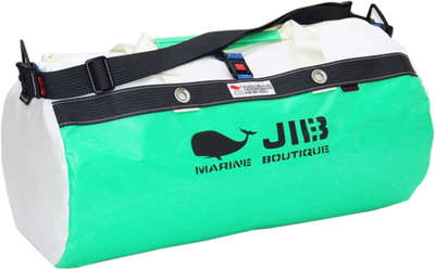 JIB ダッフルバッグM DM170 エメラルドグリーン×チャコールグレー