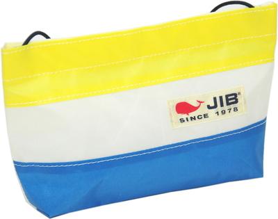 JIB バリットポシェットL BPL30 ロケットブルー×イエロー