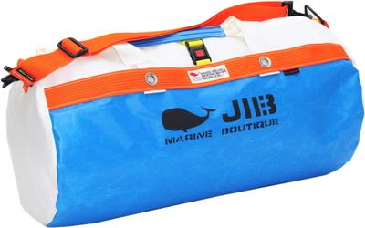 JIB ダッフルバッグM DM170 ロケットブルー×オレンジ
