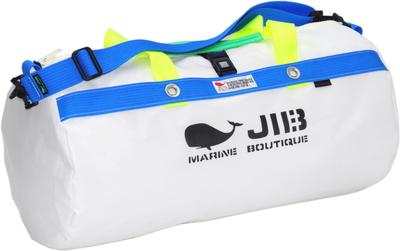 JIB ダッフルバッグM DM170 ホワイト×ブルー