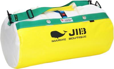 JIB ダッフルバッグM DM170 イエロー×グリーン