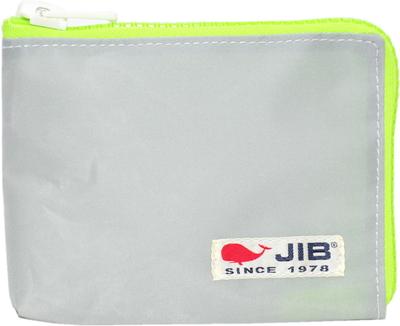 JIB マイクロクラッチラージS MCS22 グレー×蛍光グリーン×白タグ
