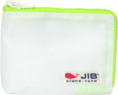 JIB マイクロクラッチラージS MCS22 ホワイト×蛍光グリーン×白タグ