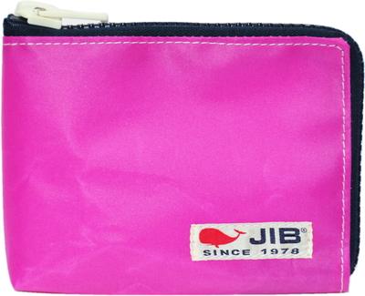 JIB マイクロクラッチラージS MCS22 ピンク×ダークネイビー×白タグ