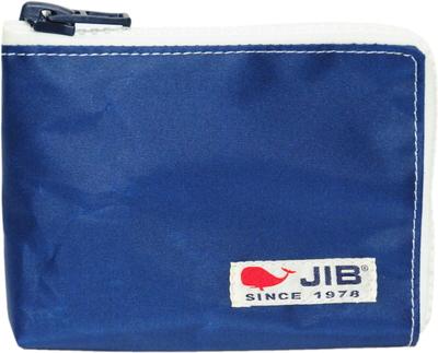 JIB マイクロクラッチラージS MCS22 ネイビー×ホワイトファスナー×白タグ