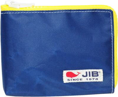 JIB マイクロクラッチラージS MCS22 ネイビー×イエローファスナー×白タグ