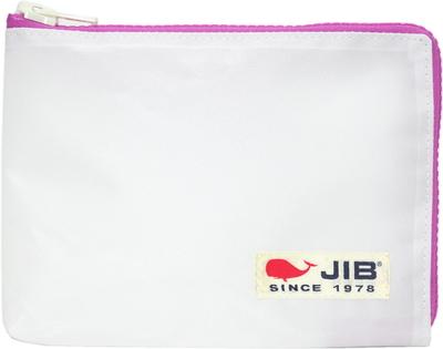 JIB マイクロクラッチラージM MCM28 ホワイト×ピンク/白タグ