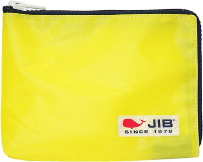 JIB マイクロクラッチラージM MCM28 イエロー×ネイビー/白タグ