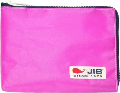 JIB マイクロクラッチラージM MCM28 ピンク×ネイビー/白タグ