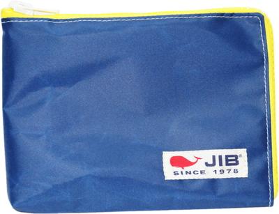 JIB マイクロクラッチラージM MCM28 ネイビー×イエロー/白タグ