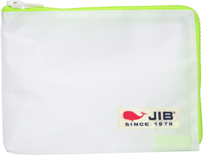 JIB マイクロクラッチラージM MCM28 ホワイト×蛍光グリーン/白タグ