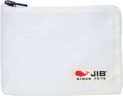 JIB マイクロクラッチラージM MCM28 ホワイト×ホワイト/白タグ