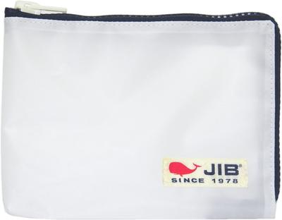 JIB マイクロクラッチラージM MCM28 ホワイト×ネイビー/白タグ