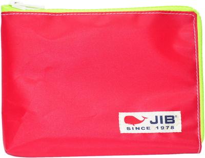 JIB マイクロクラッチラージM MCM28 レッド×蛍光グリーン/白タグ
