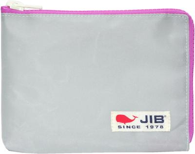 JIB マイクロクラッチラージM MCM28 グレー×ピンク/白タグ
