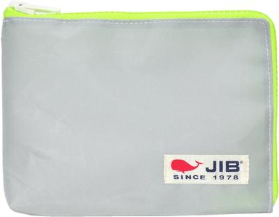 JIB マイクロクラッチラージM MCM28 グレー×蛍光グリーン/白タグ