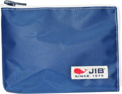 JIB マイクロクラッチラージM MCM28 ネイビー×ホワイト/白タグ