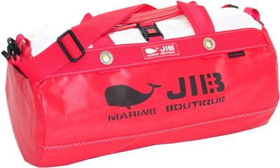 JIB ダッフルバッグSボーダー DSB160 レッド