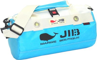 JIB ダッフルバッグSSボーダー DSSB146 スカイブルー