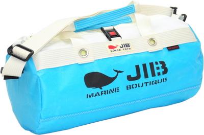 JIB ダッフルバッグSボーダー DSB160 スカイブルー