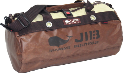 JIB ダッフルバッグSボーダー DSB160 スペシャルブラウン