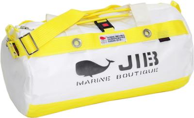 JIB ダッフルバッグSボーダー(メタルパーツ)DSB135 ソリッド イエロー