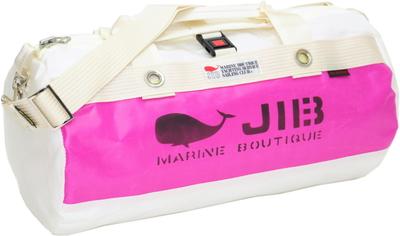 JIB ダッフルバッグSボーダー(メタルパーツ)DSB135 カラーポケット ピンク