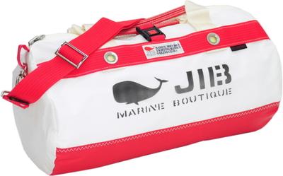 JIB ダッフルバッグSボーダー(メタルパーツ)DSB135 ソリッド レッド
