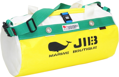 JIB ダッフルバッグS DS130 イエロー×グリーン