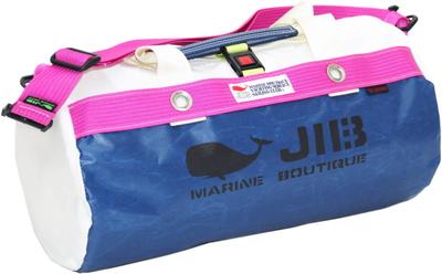 JIB ダッフルバッグS DS130 ネイビー×ピンク
