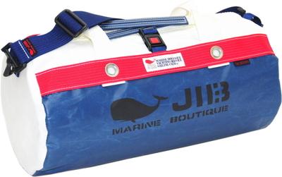 JIB ダッフルバッグS DS130 ネイビー×レッド