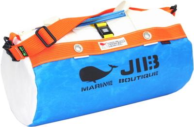 JIB ダッフルバッグS DS130 ロケットブルー×オレンジ