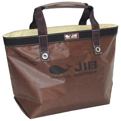 JIB オープントートM(インナージップタイプ) TFM88 スペシャルブラウン/ホワイトステッチ