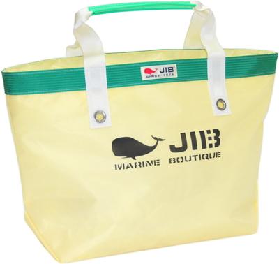 JIB オープントートM(インナージップタイプ) TFM125 シトラス×グリーン