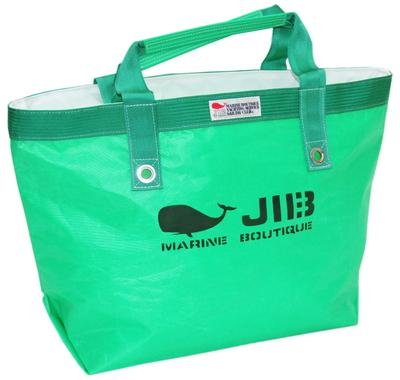 JIB オープントートM(インナージップタイプ) TFM88 エメラルドグリーン