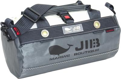 JIB ダッフルバッグSSボーダー DSSB146 チャコールグレー