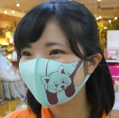 制菌・冷感ウレタンマスク レッサーパンダ  【Original】