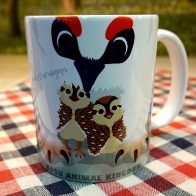 【ライチョウ募金付】陶器マグカップ ライチョウ親子 【Original】4995253347902