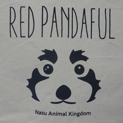 シンプルトートバッグ レッサーパンダ RED PANDAFUL 素敵なレッサーパンダ