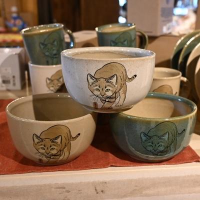 益子焼の飯椀 スナネコ【Original】とちぎ陶器  小どんぶり・深鉢