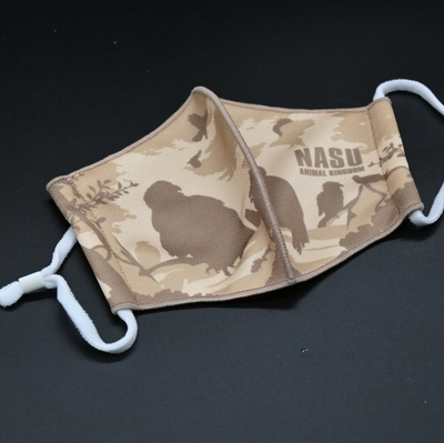 3D立体三層構造布マスク スポーツマスク 猛禽類 【Original】 耳ひも調整式
