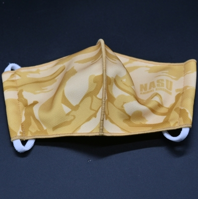 3D立体三層構造布マスク スポーツマスク スナネコ 【Original】 耳ひも調整式