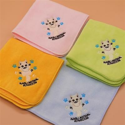 刺繍ミニタオル ホッキョクオオカミ【Original】