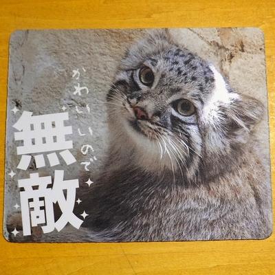 マウスパッド / ラバーマット マヌルネコ  6種類  【Original】