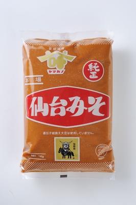 ヤマカノ仙台みそ 1kg