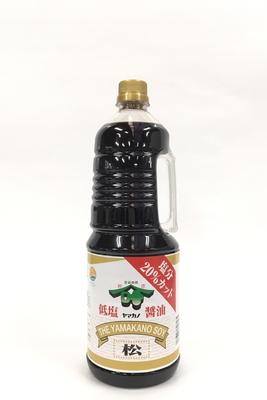 松印醤油 塩分20%カット 1.8L