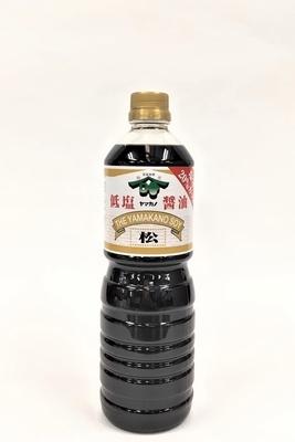 松印醤油 塩分20%カット 1L